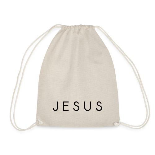Jesus sawasdee black - Drawstring Bag