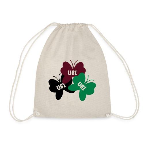 UBI - Be human - free - Drawstring Bag