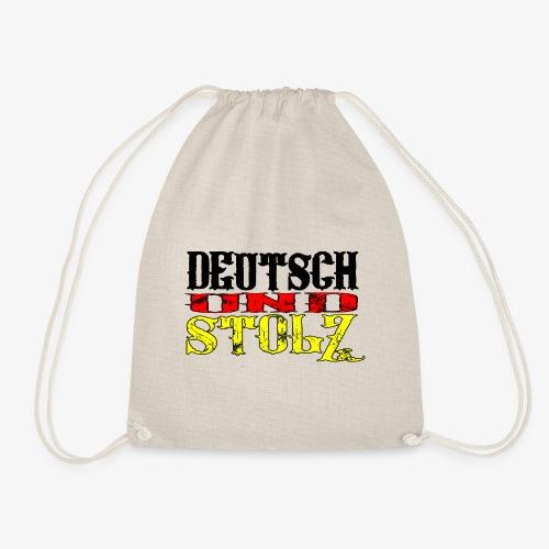 Deutsch und Stolz Deutschland - Turnbeutel
