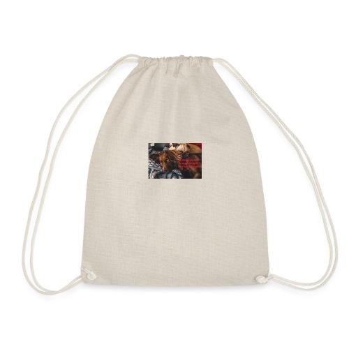 best friends - Drawstring Bag