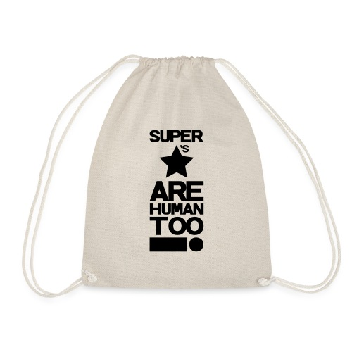 Inspired This! - Human Too! - Drawstring Bag