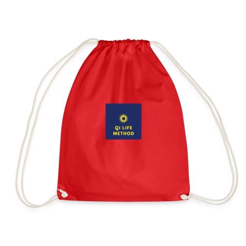 The Qi Life Method Sunlife Logo - Drawstring Bag
