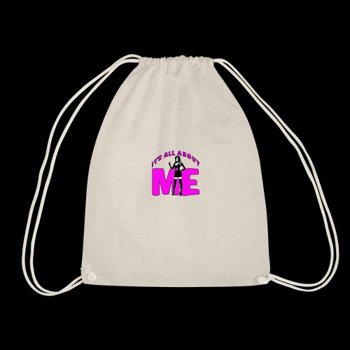 All About me Nurse Pink - Drawstring Bag