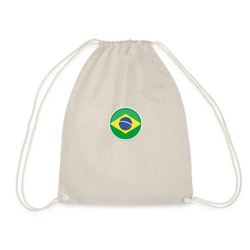 Bandeira do brasil Encontro - Drawstring Bag