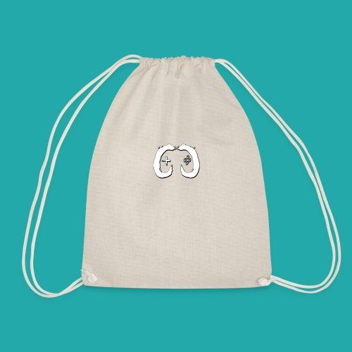 Crowd Control Logo - Drawstring Bag