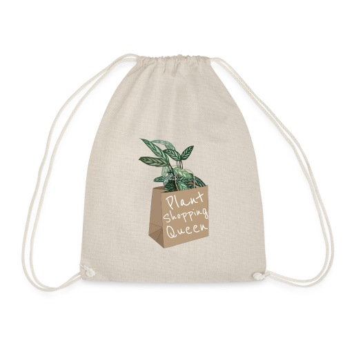 Plant Shopping Queen - Turnbeutel