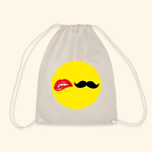 Mustache Lips - Sportstaske