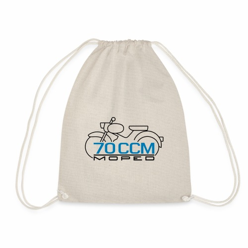 Moped sparrow 70 cc emblem - Drawstring Bag