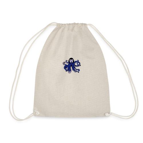 Octopus Face - Drawstring Bag