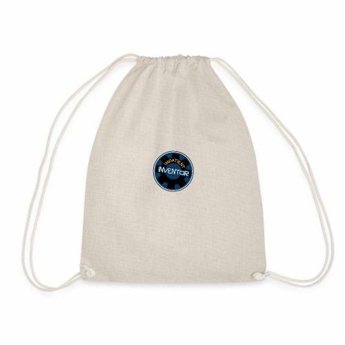 Inventors back pack for all your creative junk - Drawstring Bag