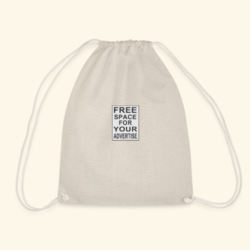 Free space for your advertise - Drawstring Bag
