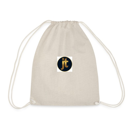Golden jt logo - Drawstring Bag