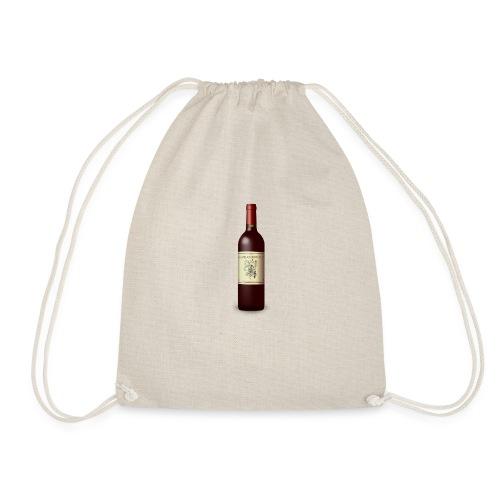 Weinflasche - Turnbeutel