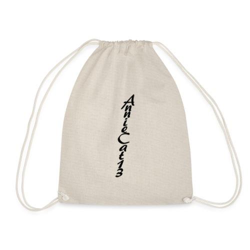 annicat upwards writing copy png - Drawstring Bag
