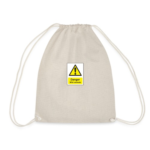 danger - Drawstring Bag