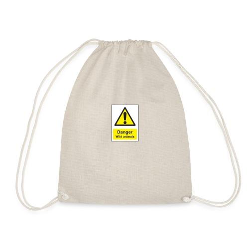 danger - Drawstring Bag