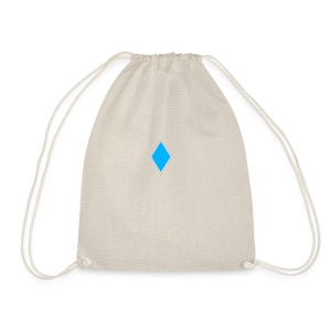 Diamond blue - Drawstring Bag