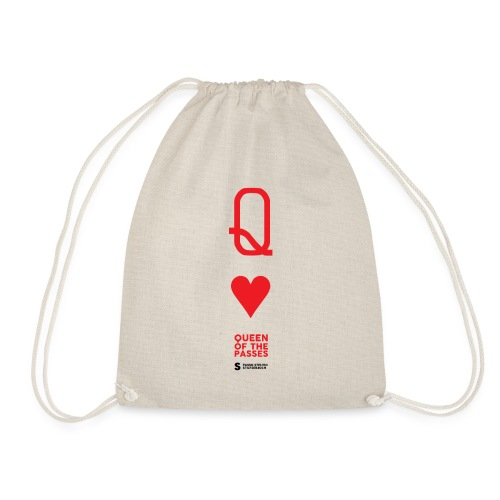 QUEEN OF THE PASSES - Drawstring Bag