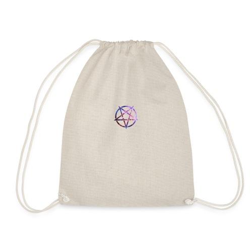Cosmic Pentagramm - Drawstring Bag