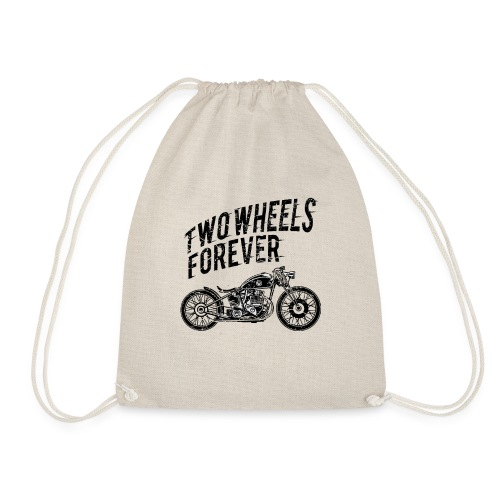Two Wheels Forever Biker Shirt - Turnbeutel