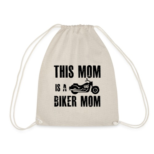 this mom is a biker mom best gift for her - Gymnastikpåse