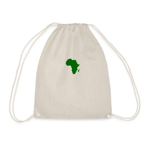 African styles green - Drawstring Bag