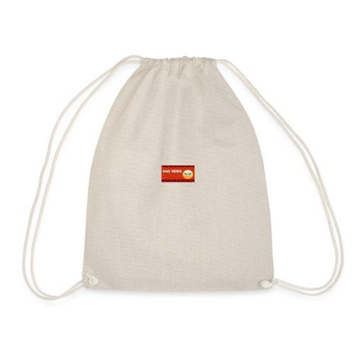 Sad news bag - Drawstring Bag