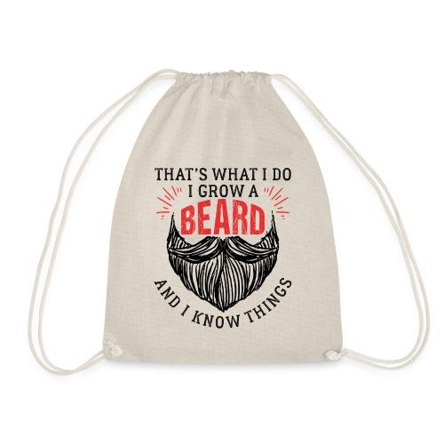 That's What I Do I Grow A Beard - Turnbeutel