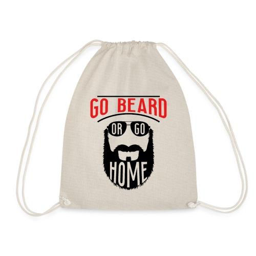 Go Beard Or Go Home - Turnbeutel