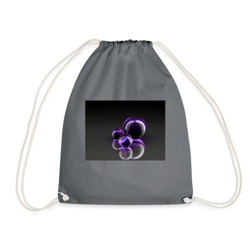 Purple Balls - Turnbeutel