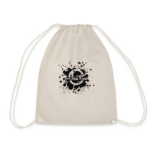 For the Ride Splatter - Drawstring Bag