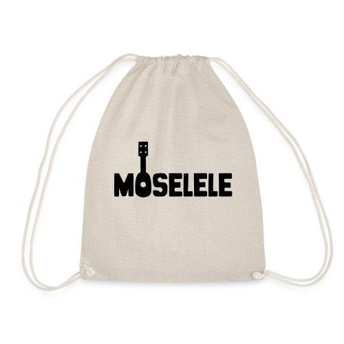 moselelelogoblack - Drawstring Bag