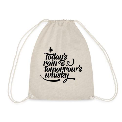 Today's Rain - Drawstring Bag
