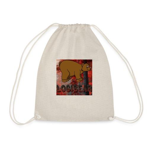Male Logi Bear Shirt - Drawstring Bag