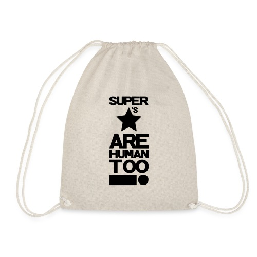 Inspired This! - Human Too! - Drawstring Bag