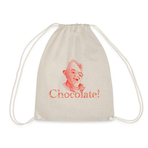 Sloth loves Chocolate - Sloth liebt Schokolade - Turnbeutel