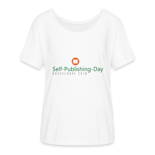 Self-Publishing-Day Düsseldorf 2018 - Frauen T-Shirt mit Fledermausärmeln von Bella + Canvas