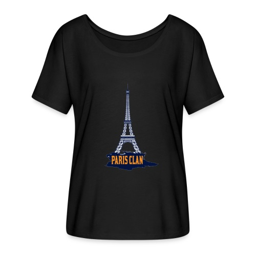 Paris Eiffel - Women's Batwing-Sleeve T-Shirt by Bella + Canvas