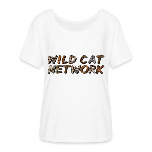 WildCatNetwork 1 - Women's Batwing-Sleeve T-Shirt by Bella + Canvas