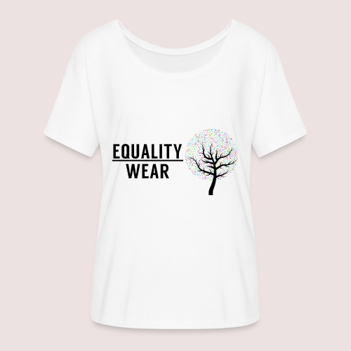 Musical Equality Edition - Women's Batwing-Sleeve T-Shirt by Bella + Canvas
