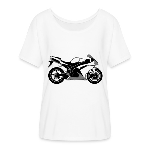 R1 07-on V2 - Women's Batwing-Sleeve T-Shirt by Bella + Canvas