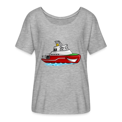 Boaty McBoatface - Women's Batwing-Sleeve T-Shirt by Bella + Canvas