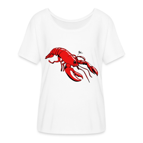 Lobster - Women's Batwing-Sleeve T-Shirt by Bella + Canvas