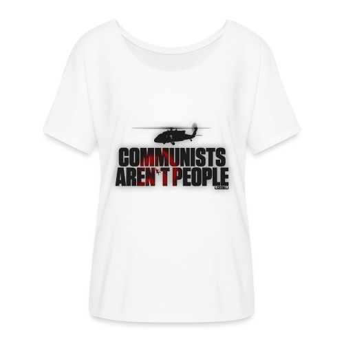 Communists aren't People - Women's Batwing-Sleeve T-Shirt by Bella + Canvas
