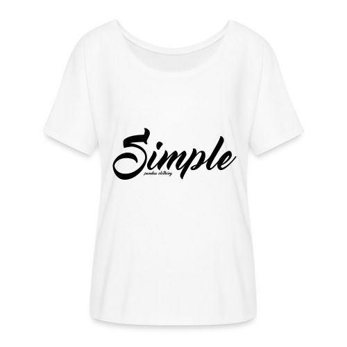 Simple: Clothing Design - Women's Batwing-Sleeve T-Shirt by Bella + Canvas