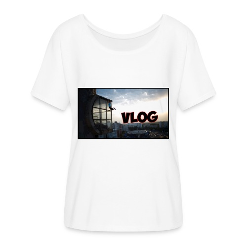 Vlog - Women's Batwing-Sleeve T-Shirt by Bella + Canvas