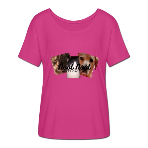 Animal Merch - Women's Batwing-Sleeve T-Shirt by Bella + Canvas