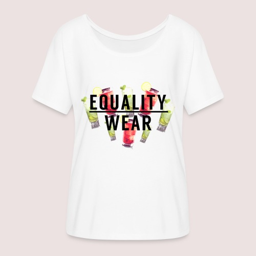 Equality Wear Summer Edition - Women's Batwing-Sleeve T-Shirt by Bella + Canvas