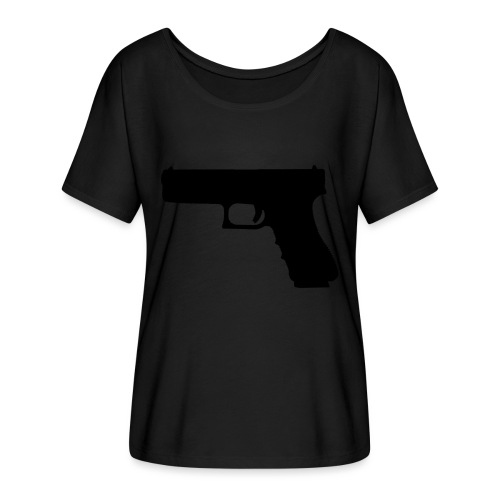 The Glock 2.0 - Women's Batwing-Sleeve T-Shirt by Bella + Canvas
