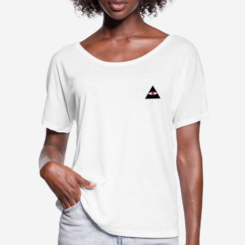 Eye of Providence symbol | protection | blessing - Flowy Women's T-Shirt by Bella + Canvas